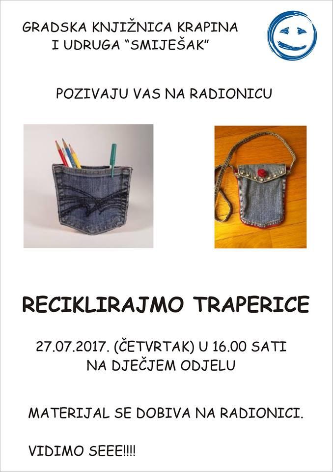 LokalnaHrvatska.hr Krapina Radionica Reciklirajmo traperice