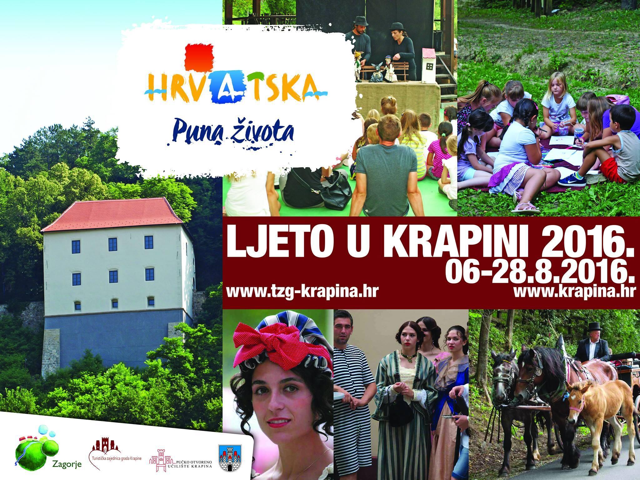 LokalnaHrvatska.hr Krapina Najava- Ljeto u Krapini, 27. i 28.kolovoza 2016.